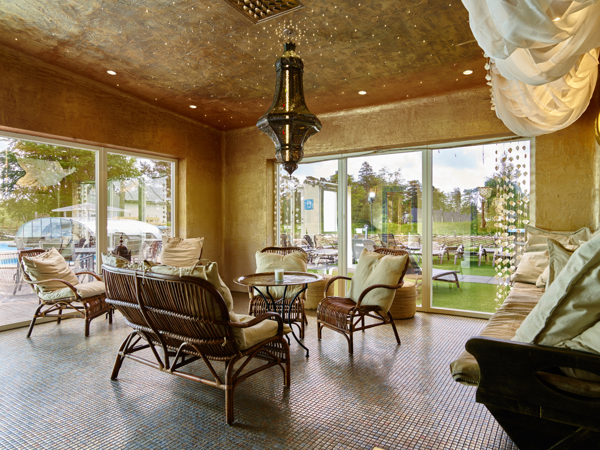 Inredning bastu vedeldad : Bastu & relax | Sudersand Resort