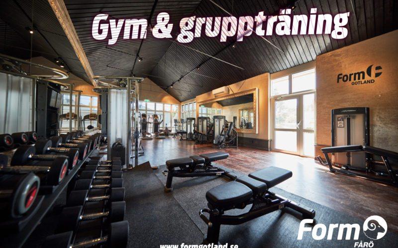 Gym - Form Fårö